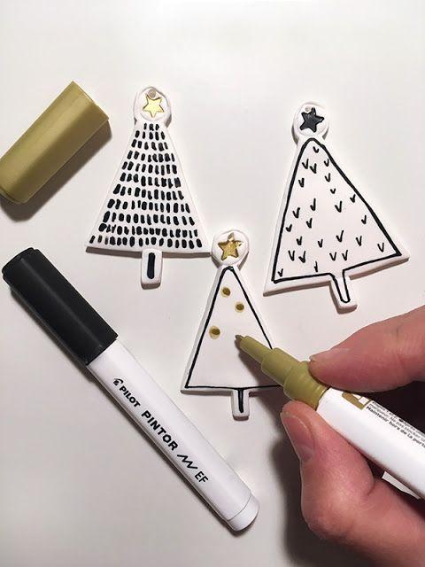 DIY: Fimo Baumschmuck für Weihnachten * Fimo christmas ornaments