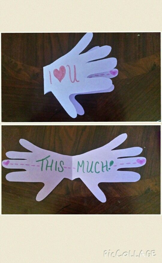 "DIY ""I love you card"" for Mother's Day – kids blog"