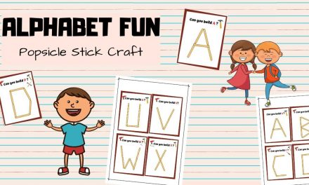 Popsicle Stick Alphabets