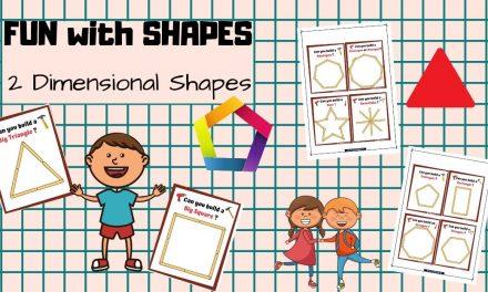 Popsicle Stick – 2D- Shapes
