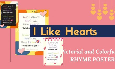 I LIKE HEARTS – February Preschool Rhymes