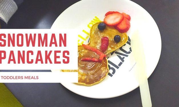 Snowman Pancakes – A Winter Recipe