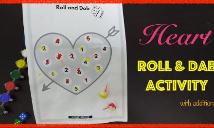 Roll and Dab Games with Valentine Theme