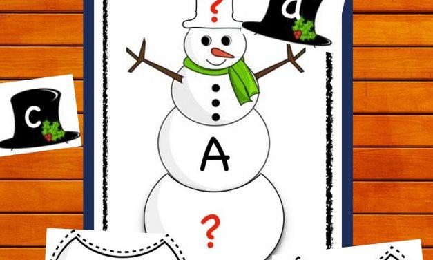 Alphabets PHONIC SNOWMEN