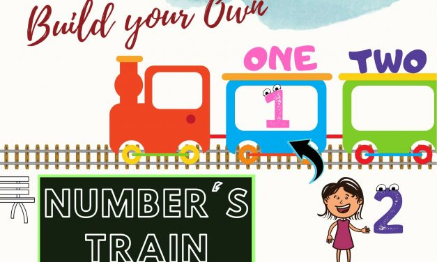 Numbers and Number Names Train