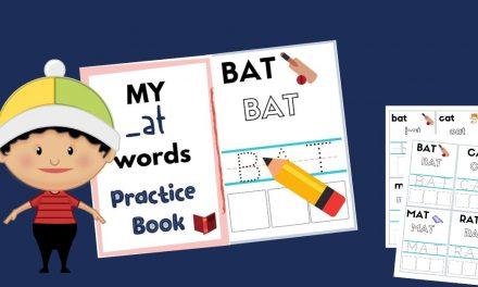 First CVC Words – Reading & Writing