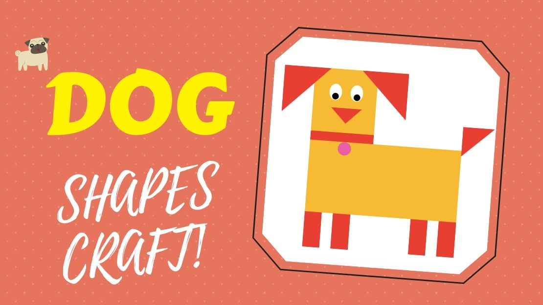 Cut and Paste Shape Puzzle – No Preparation DOG Craft