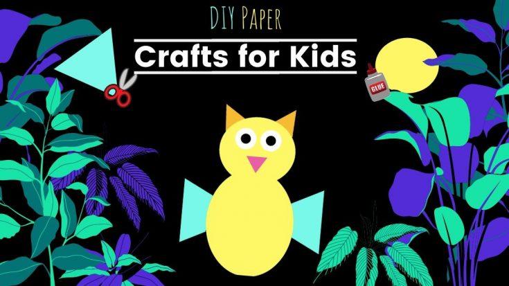 Cut and Paste OWL Shape Puzzle - No Preparation Craft