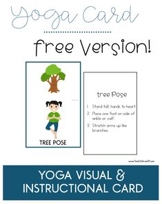 10 best kids yoga websites  cards posters games  more