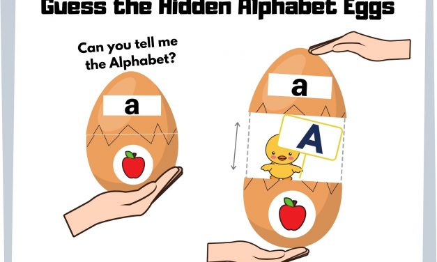 Hidden Alphabets Surprise Eggs